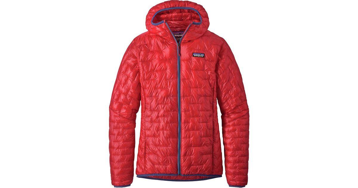 2da061ac1b4 Skiing & Snowboarding Sports & Outdoors Patagonia Ws Micro Puff Hoody  Maraschino