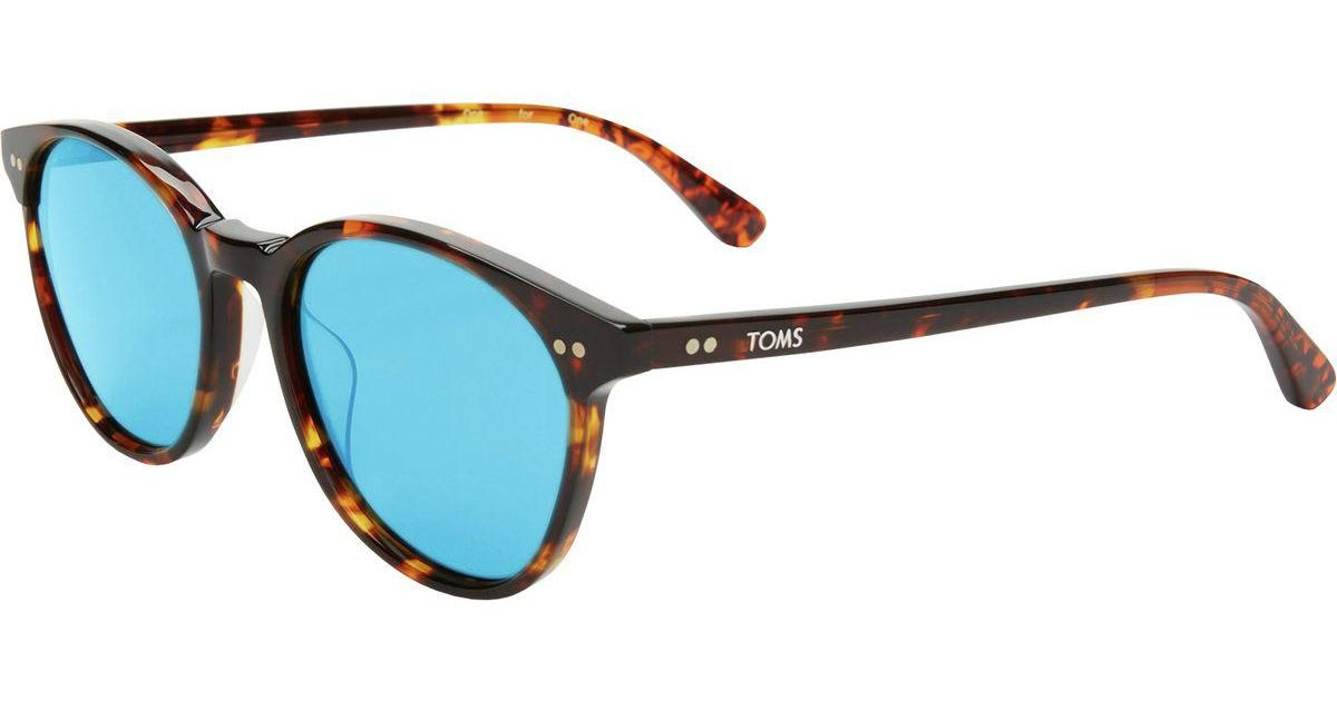 a548f00e2dedb Lyst - TOMS Bellini Sunglasses - Polarized in Blue for Men