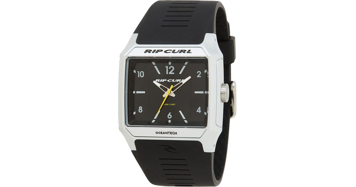 bb5edfc0e0c2 Rip Curl Rifles Analog Watch in Metallic for Men - Lyst