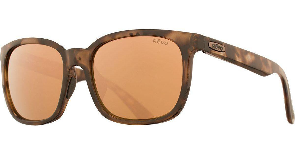 e0f9bdea47 Lyst - Revo Slater Polarized Sunglasses in Brown for Men