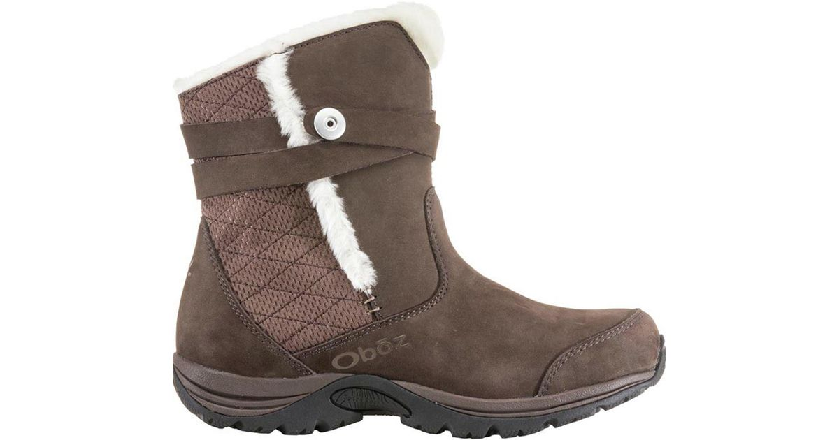 e5250790d9e Oboz - Brown Madison Insulated Bdry Boot - Lyst