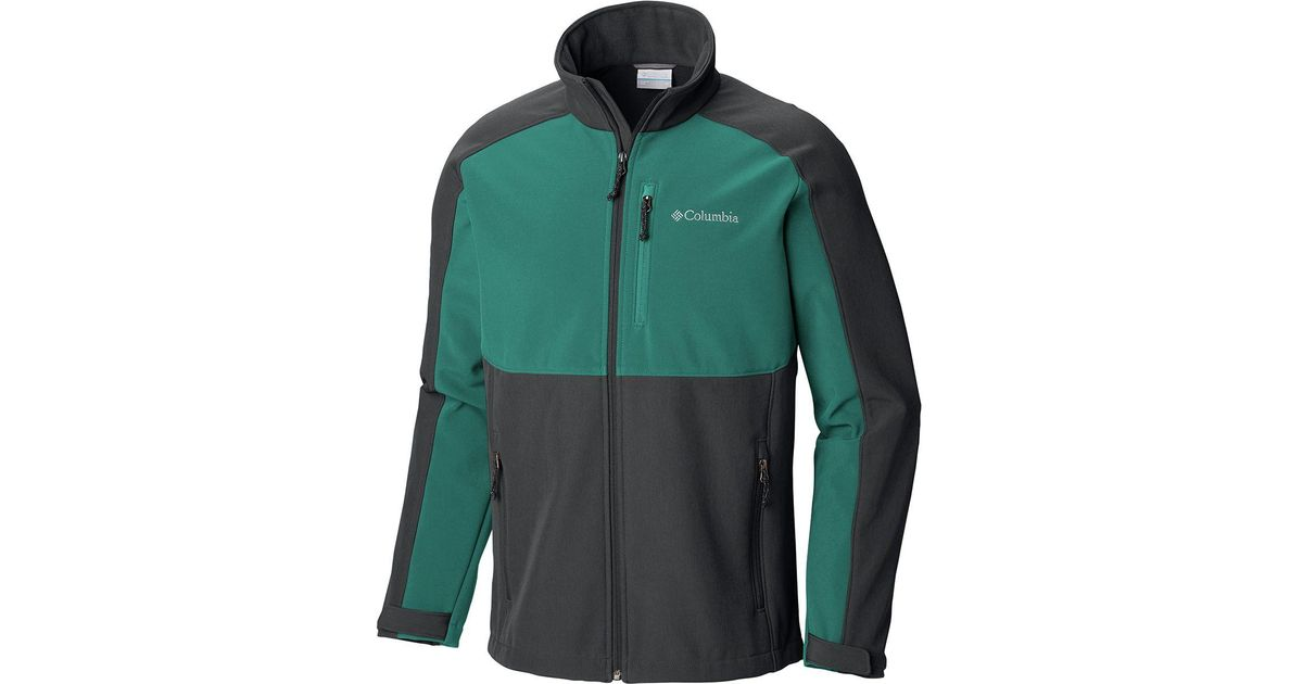 Lyst - Columbia Ryton Reserve Softshell Jacket in Green for Men 72fb1d55a8