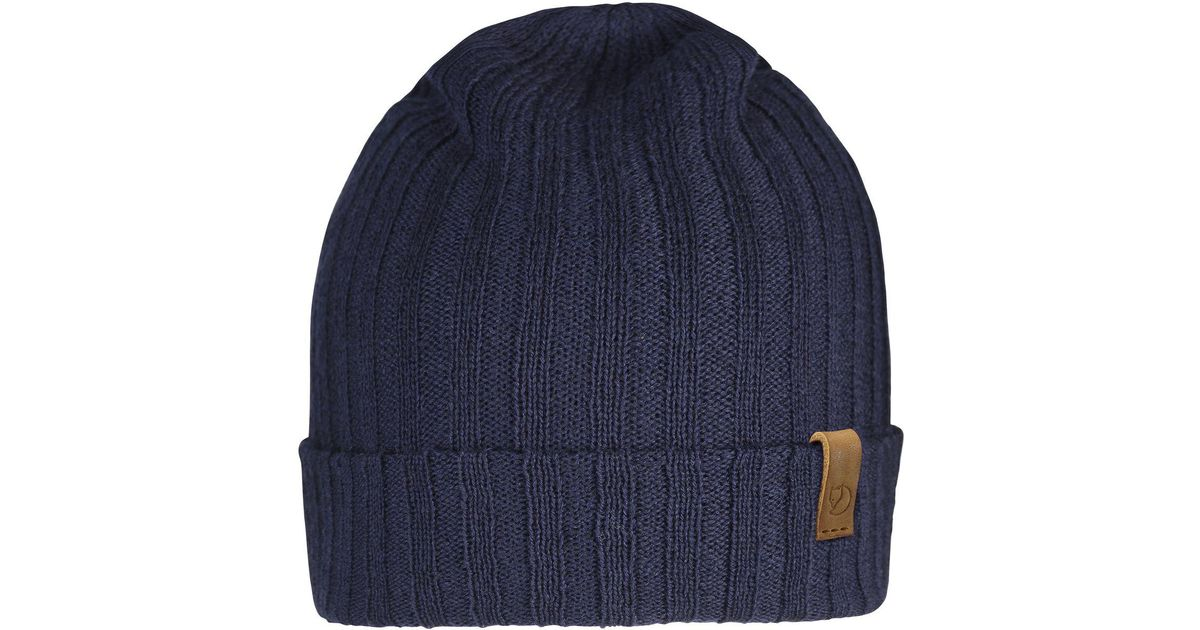 1d01aae64ca Lyst - Fjallraven Byron Thin Hat in Blue for Men