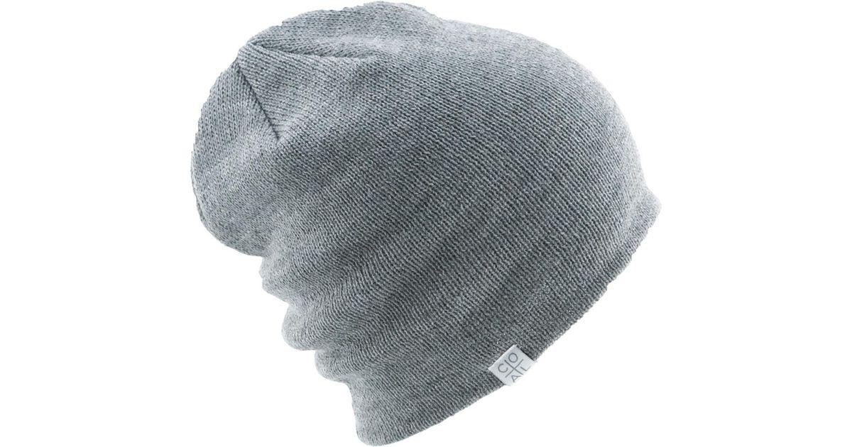 d41e0a31744 Lyst - Coal Flt Beanie in Gray for Men