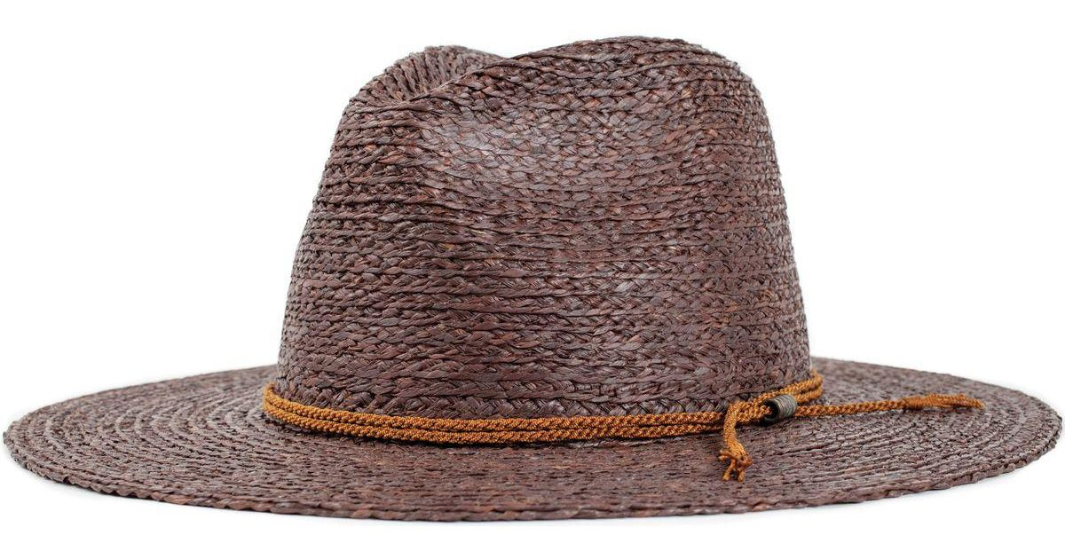 3d9ebd5c7a922 Lyst - Brixton Sandoz Hat in Brown for Men