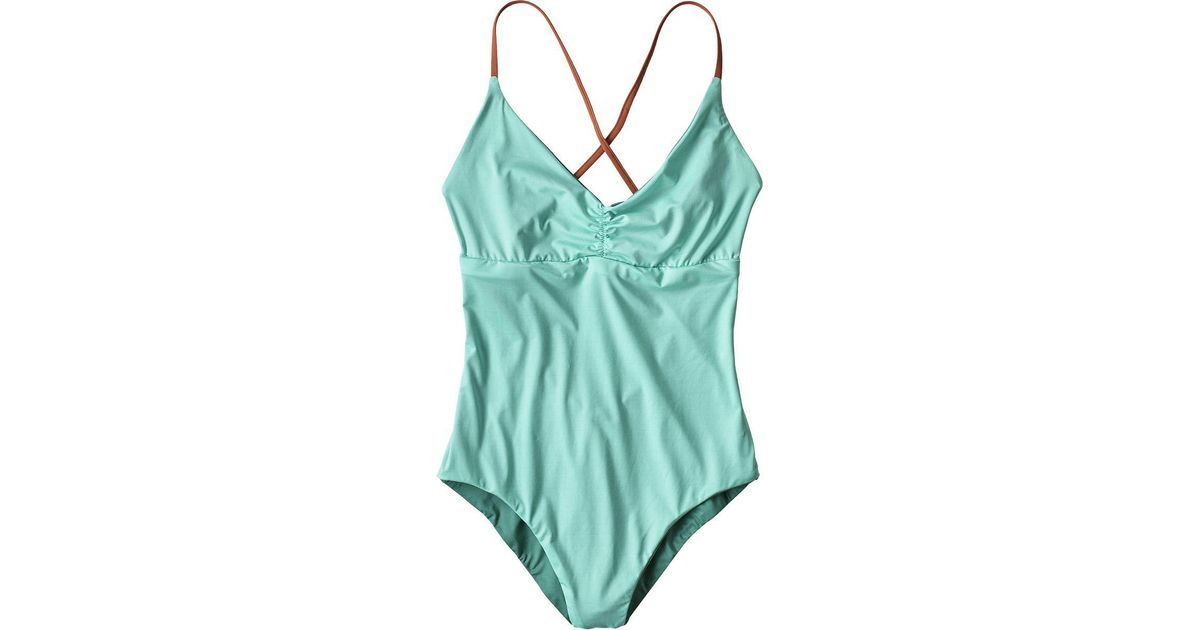 927bee3c59 Lyst - Patagonia Kupala Reversible One-piece Swimsuit in Blue