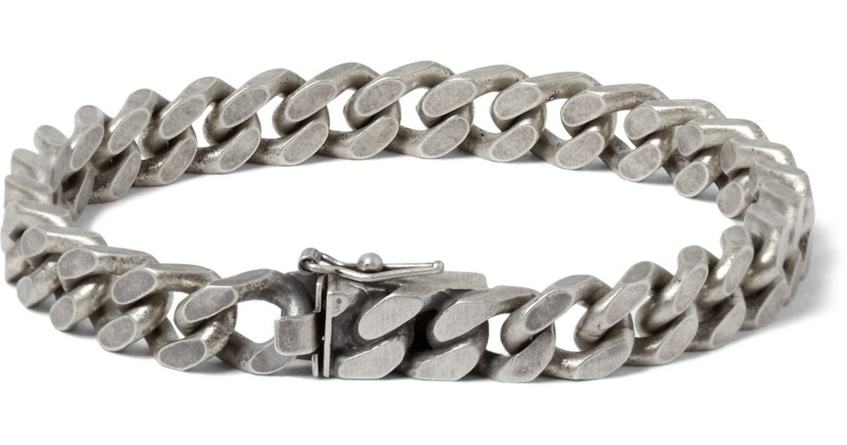 link silver bracelet sterling square chain bling jewelry mens chainbracelet