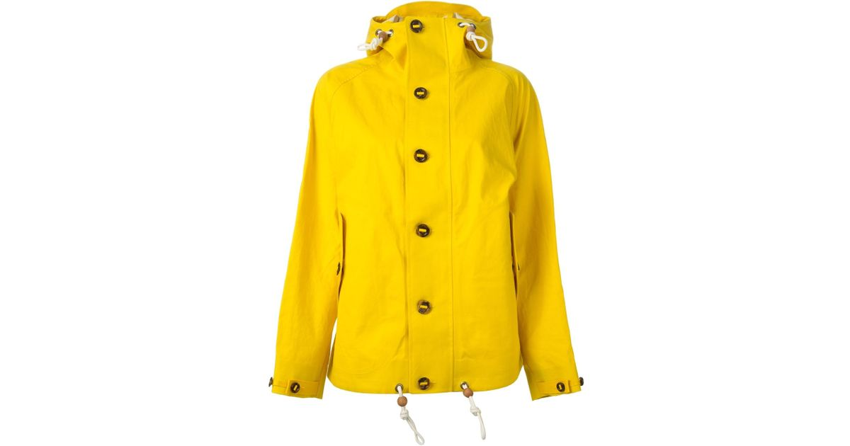 dependable performance fair price limited sale Polo Ralph Lauren Yellow Hooded Raincoat