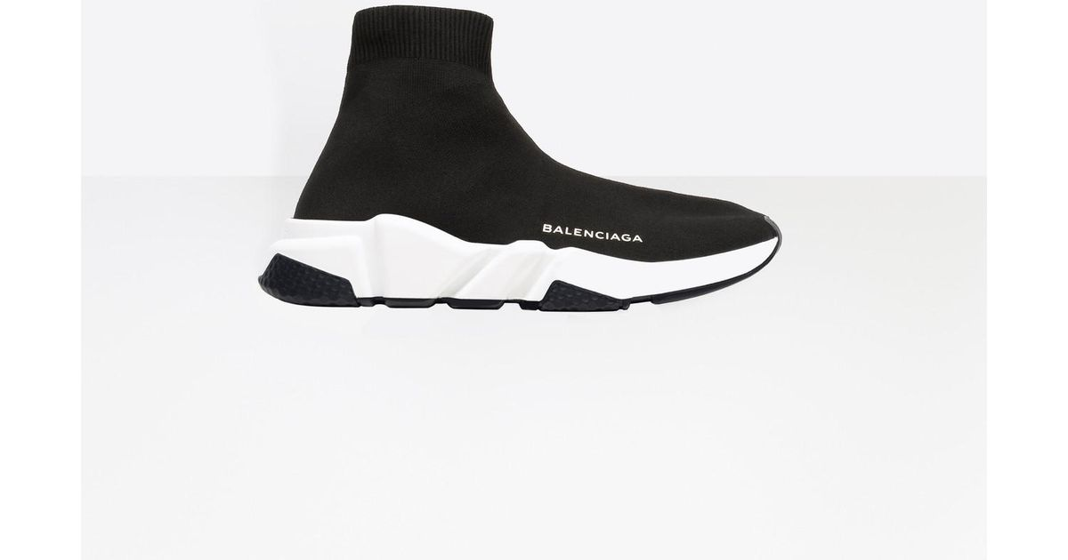 Balenciaga Speed Trainers in Black - Lyst f5eb18aa9c