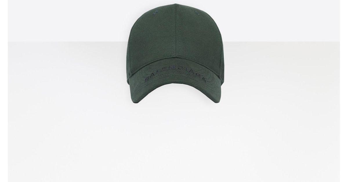 bfc19da526d Balenciaga Cap in Green for Men - Lyst
