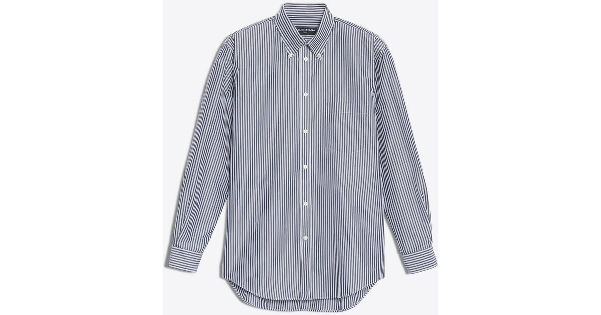 Lyst - Balenciaga Normal Fit Shirt for Men a0851ad73022