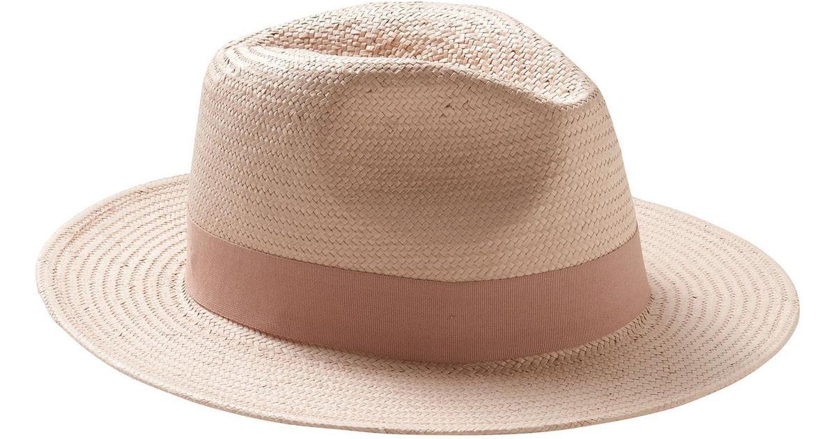 9e87ac67 Lyst - Banana Republic Factory Pop Color Panama Hat
