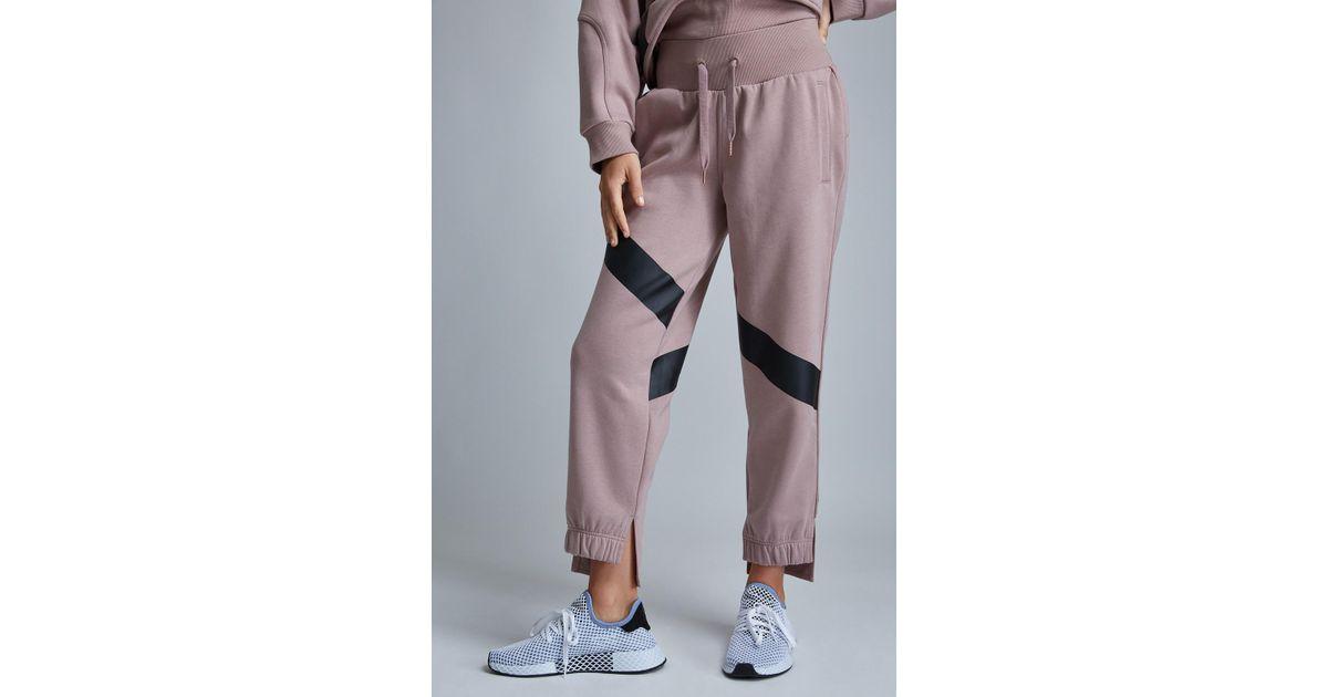 dad3e48ea2cabb adidas By Stella McCartney Yoga Comfort Sweatpant in Pink - Lyst