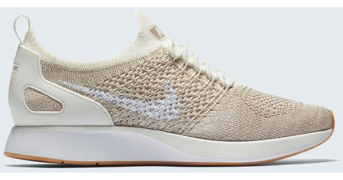 Lyst - Nike Air Zoom Mariah Flyknit Racer Sneaker in White a971677a54