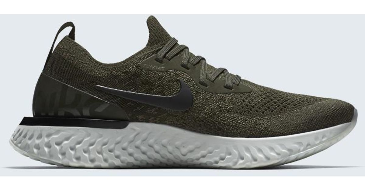 c18f301b9f859 ... cheapest lyst nike epic react flyknit in black for men 5a0ab ad984