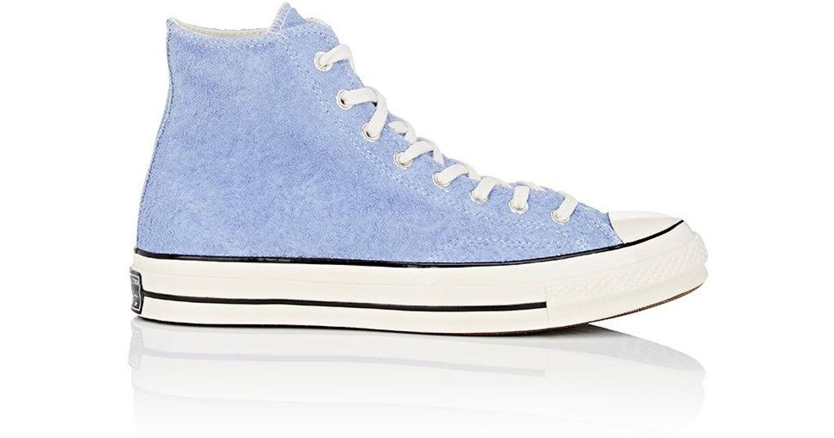 Lyst - Converse Chuck Taylor All Star  70 Suede Sneakers in Blue for Men 78d8d732f