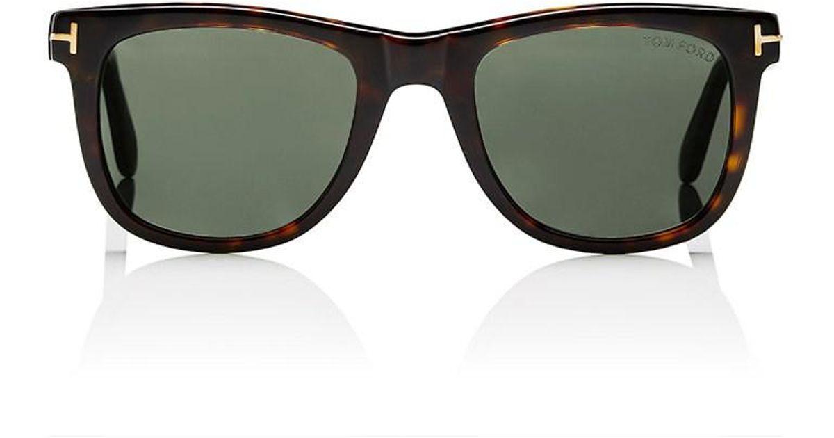 fa214ca068 Lyst - Tom Ford Leo Sunglasses in Gray for Men