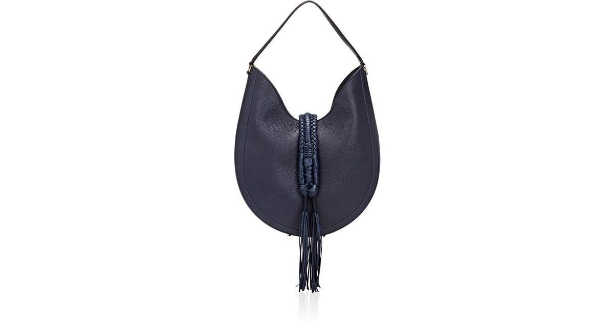 f05910bb26f Altuzarra Ghianda Knot Small Hobo Bag in Blue - Save 70% - Lyst