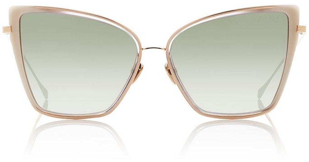 08a79d945a Lyst - Dita Sunbird Sunglasses in Gray