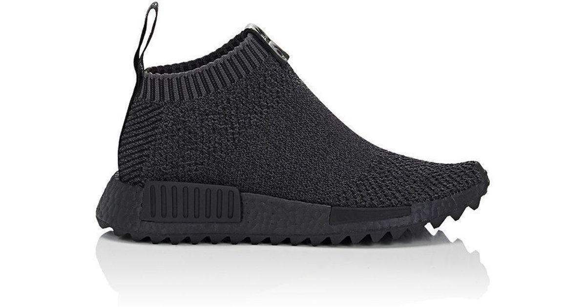 Lyst - adidas Originals Nmd City Sock 1 Primeknit Sneakers in Black aee4c6744