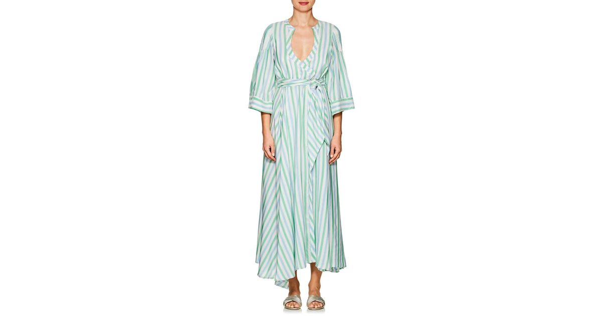 d053baee2c27 thierry-colson-Mint-Sultane-Striped-Silk-Wrap-Dress.jpeg