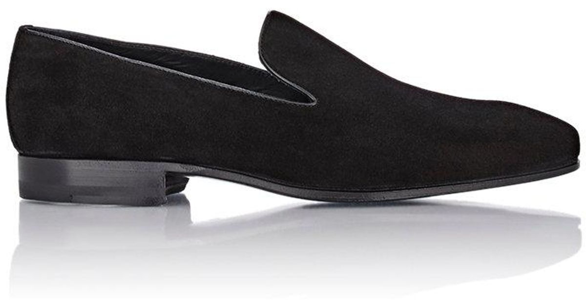 Black Suede Loafers Cifonelli FtsN6d
