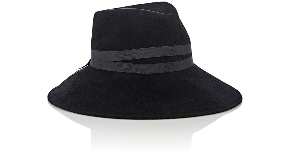 7760c6c9c99c7 Lyst - Jennifer Ouellette Tina Fedora in Black
