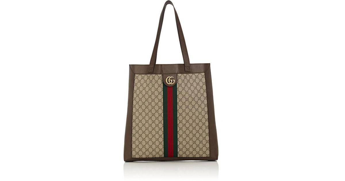 277624ac74 Gucci - Natural GG Supreme Canvas Tote Bag for Men - Lyst
