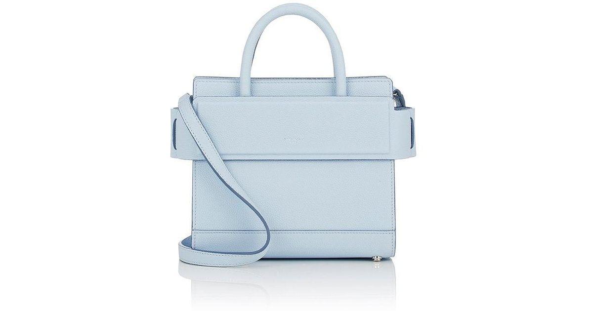 e3879e21ab7c Lyst - Givenchy Horizon Mini Leather Crossbody Bag in Blue