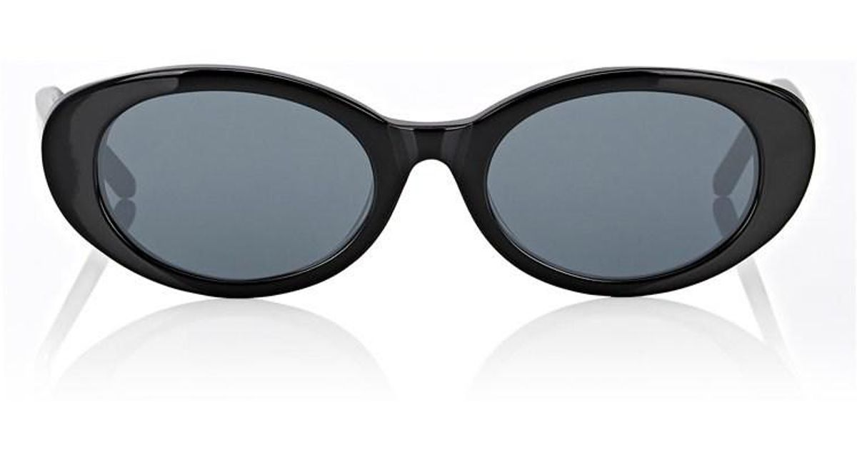 e8c5bf3975 ROBERI AND FRAUD Betty Sunglasses in Black - Lyst