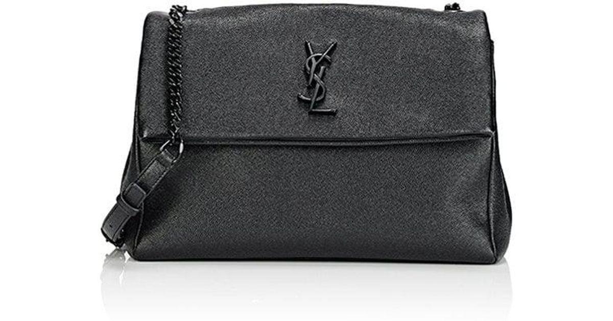 ac66b16dfb2 Lyst - Saint Laurent Monogram West Hollywood Shoulder Bag in Black