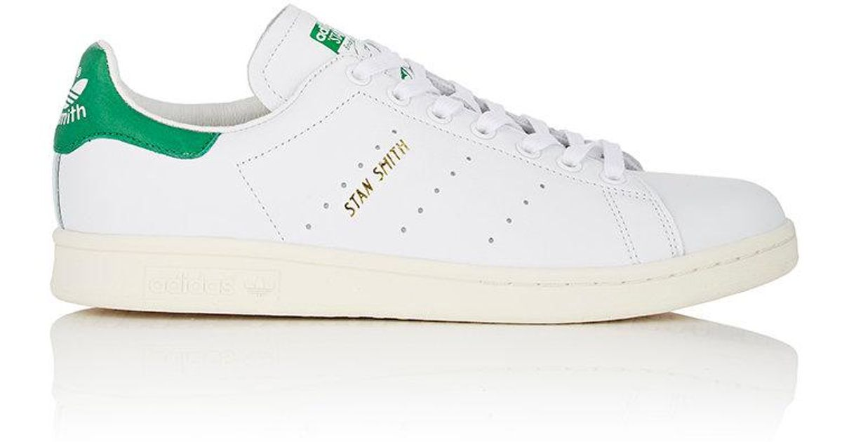 finest selection 218cc 806d1 Adidas - White Stan Smith Leather Sneakers - Lyst