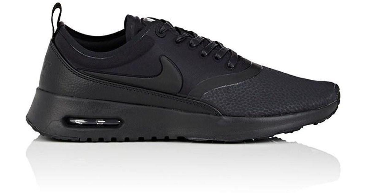 Lyst - Nike Air Max Thea Ultra Premium Sneakers in Black for Men 72f235f1e34f