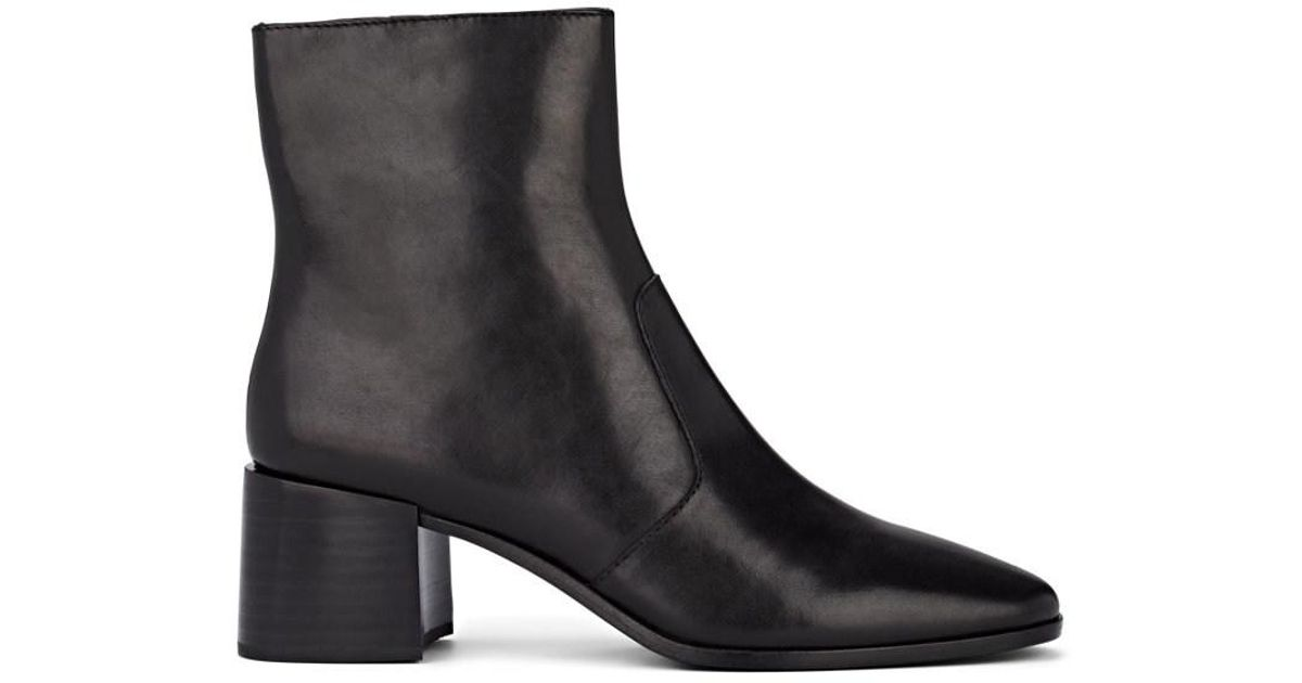 cd8904262001 Lyst - Loeffler Randall Grant Leather Ankle Boots in Black