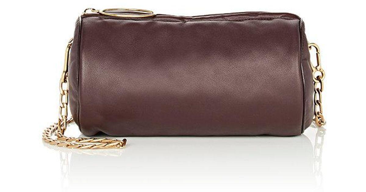 e22d4de9aeb3 Stella McCartney Puffer Mini Shoulder Bag in Purple - Lyst