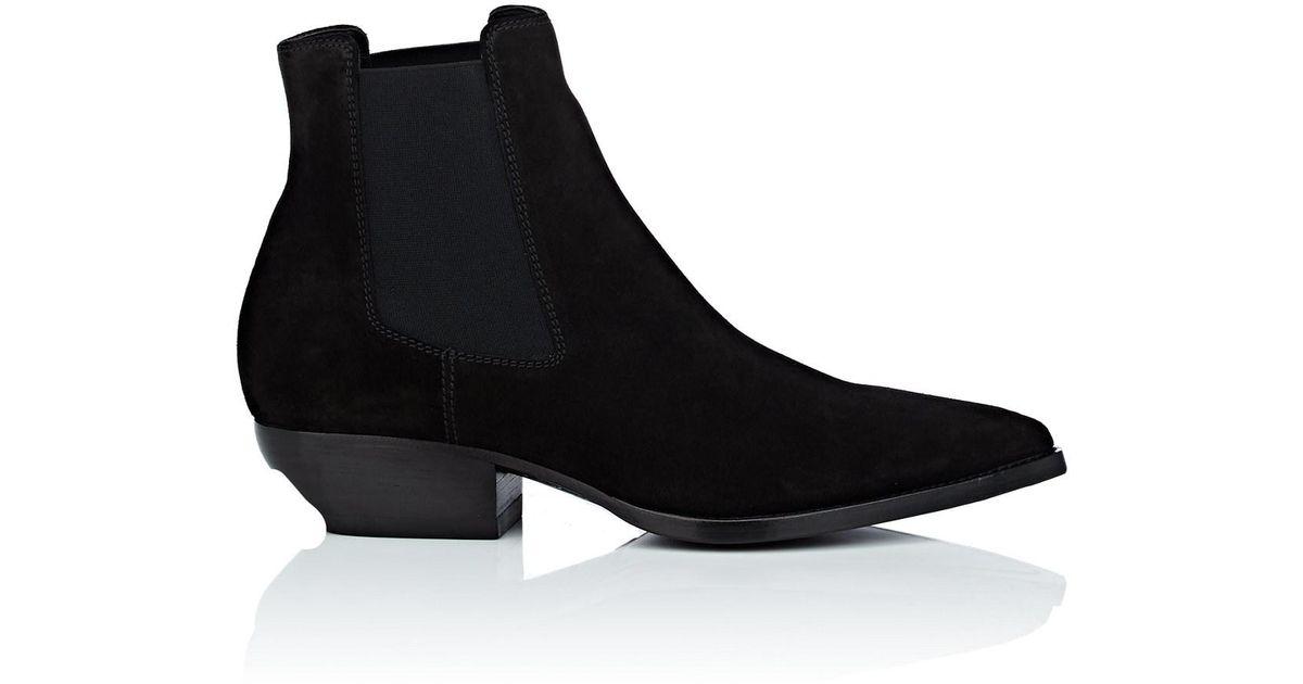 Qualité Supérieure Des Prix Pas Cher Saint Laurent Black Theo Chelsea Boots Avec Vente Paypal En Ligne 2nsFxQJr3K