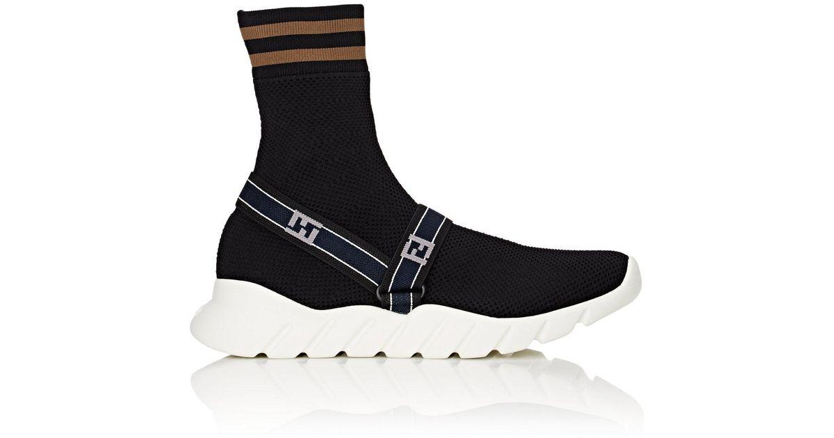 logo sock sneakers - White Fendi dTVL3HHix