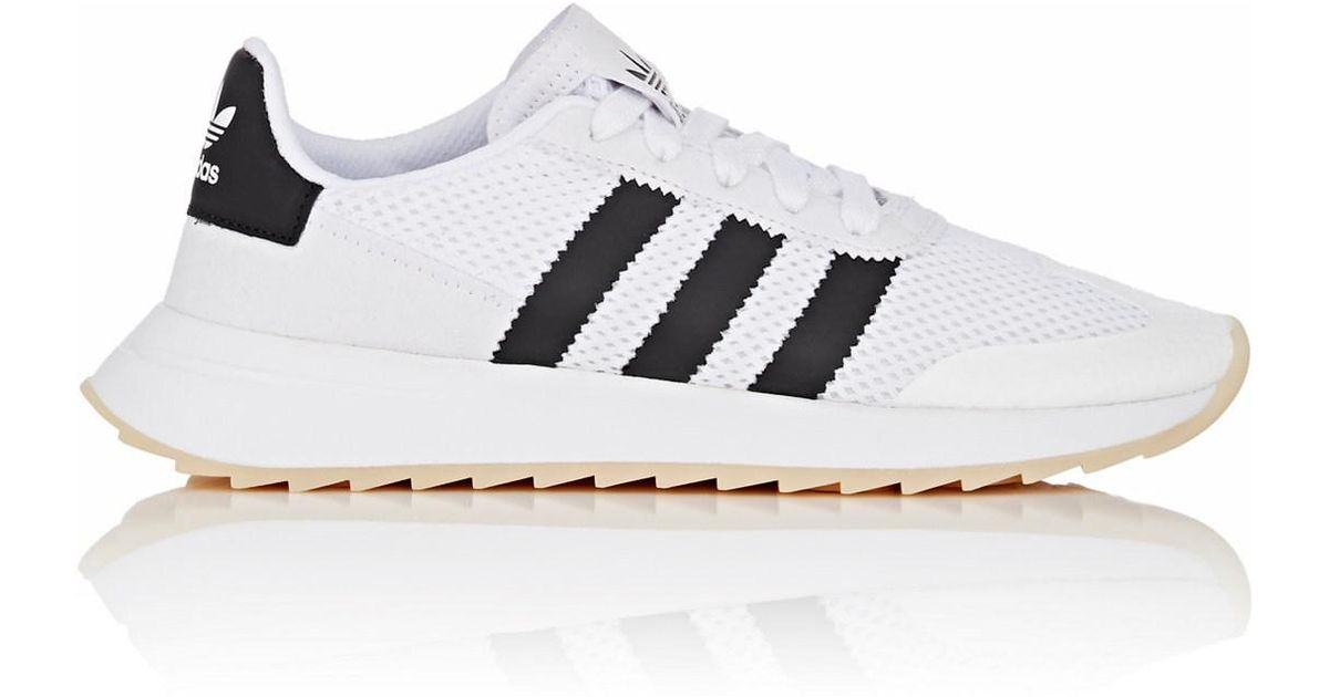 buy popular 9c5c5 57448 Lyst - adidas Flashback Primeknit Sneakers in White