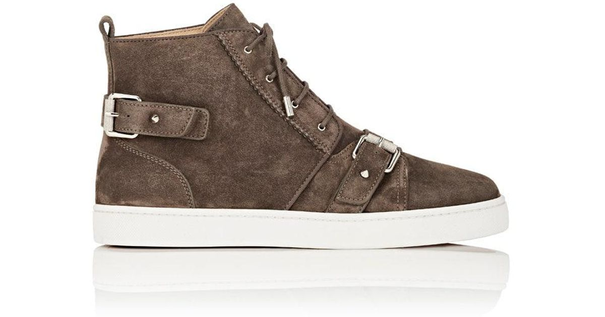 louboutin suede
