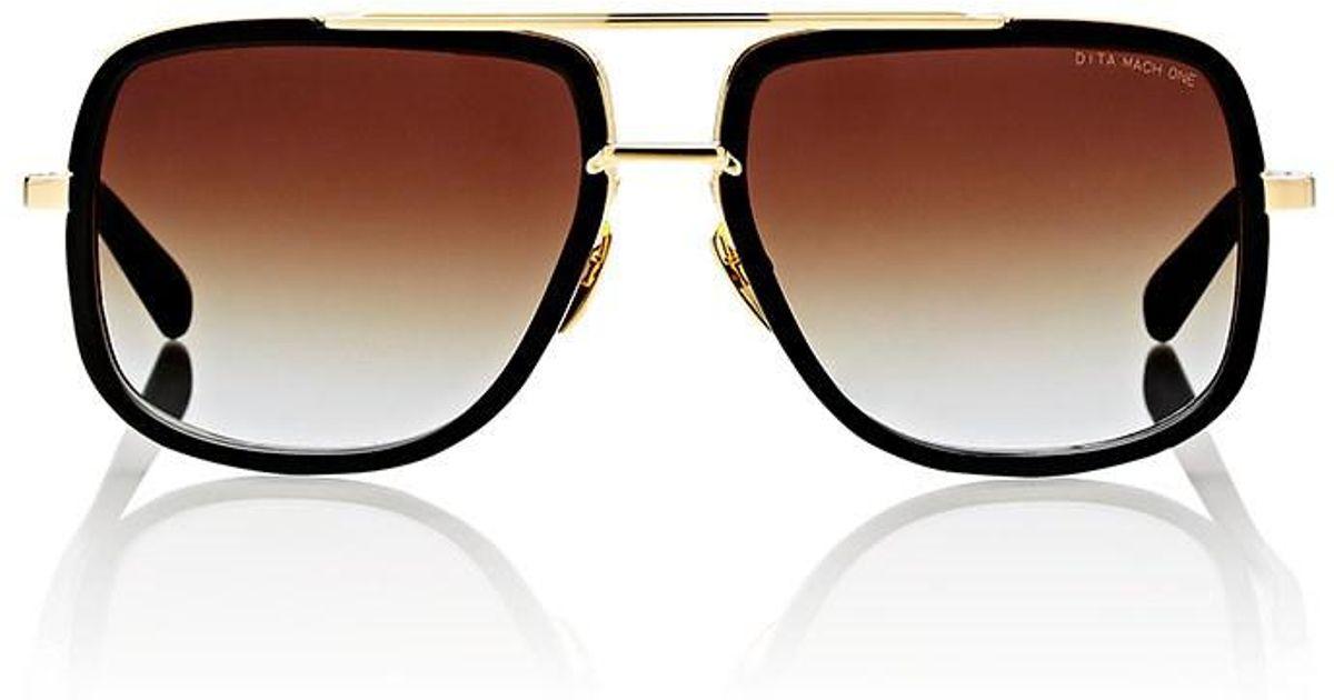 340b7d210ba Lyst - DITA Mach One Sunglasses in Black for Men