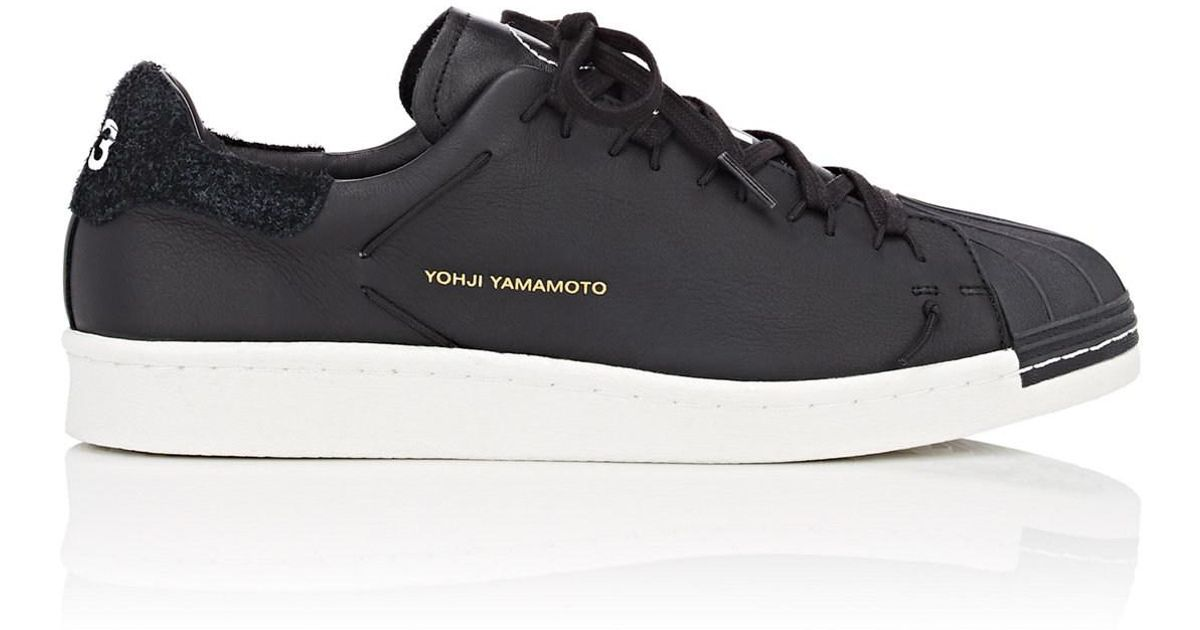 4ec6adaef Lyst - Y-3 Super Knot Leather Sneakers in Black for Men