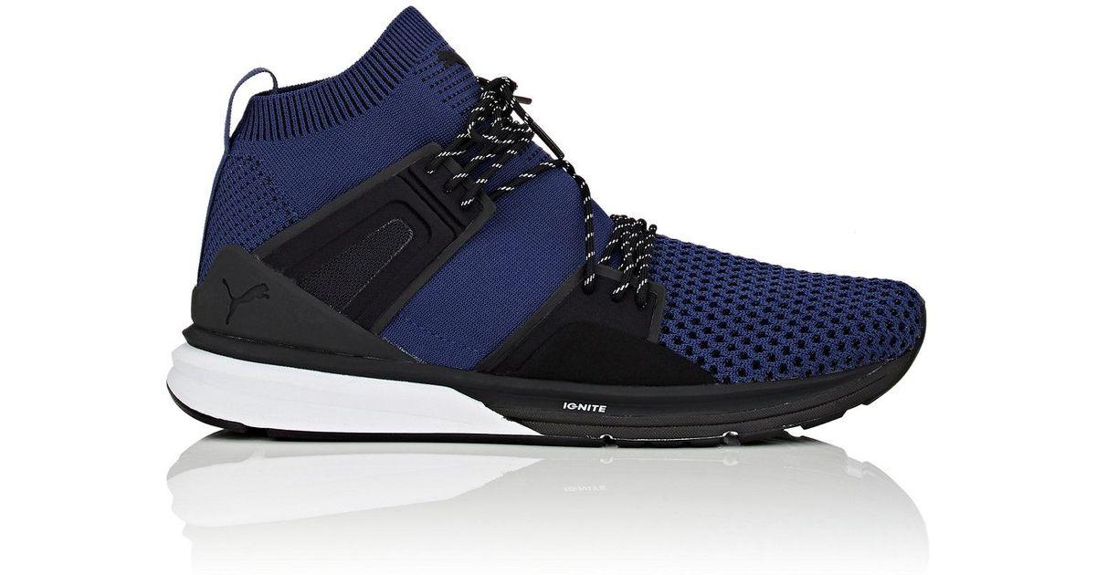 4b0f3705bc63 Lyst - PUMA B.o.g Limitless Evoknit Sneakers in Blue for Men