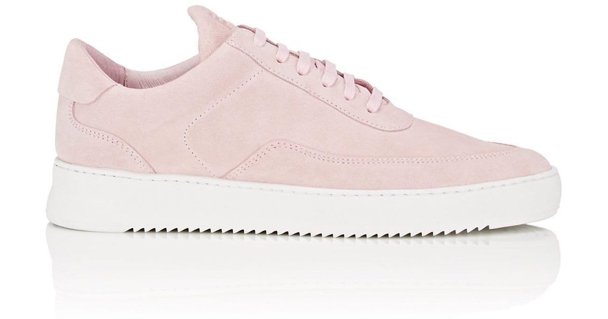 f43f0d2107ffff Lyst - Filling Pieces Low Mondo Ripple Nardo Suede Sneakers in Pink for Men