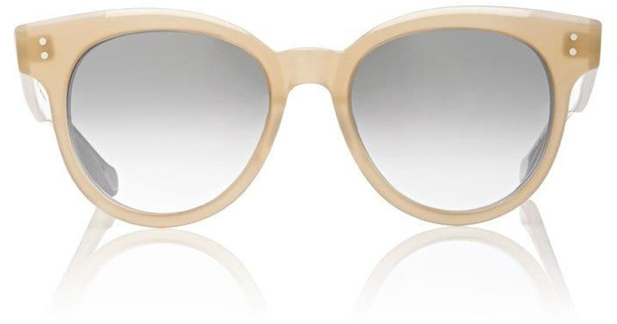 50ebcf85a116 Lyst - Dita Sunspot Sunglasses in Brown