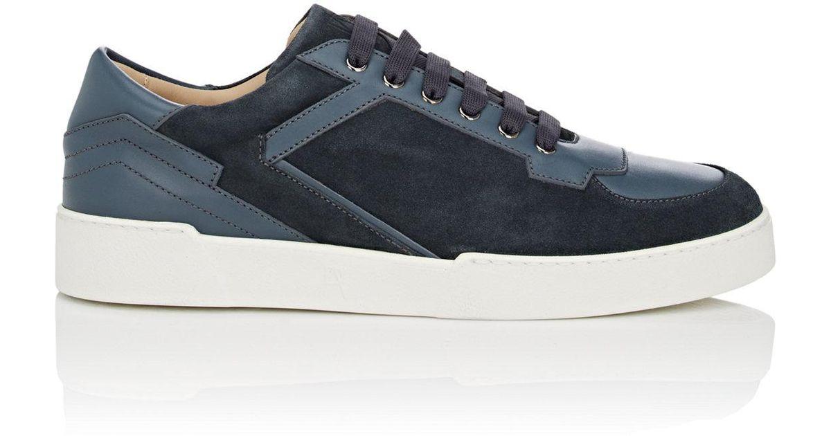 Mens Abel Suede & Leather Sneakers PAUL ANDREW YH80Y