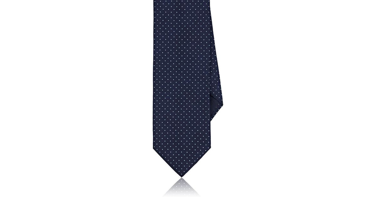 Mens Striped Silk-Cotton Twill Necktie Barneys New York jaw0sqTeFG