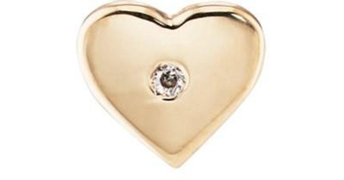 Womens Heart Stud Earring Barneys New York QoO0GL0wgd