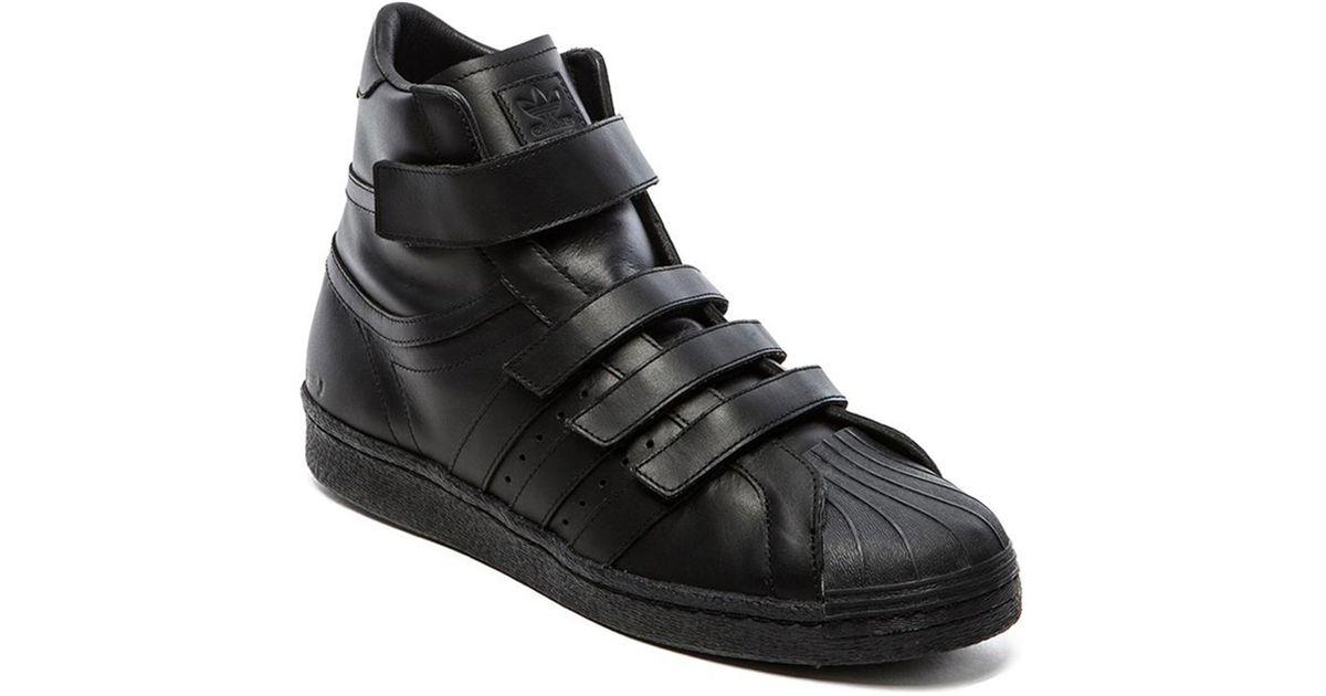 dda2d90ee45 Lyst - Adidas Promodel 80S Hi Jj in Black for Men