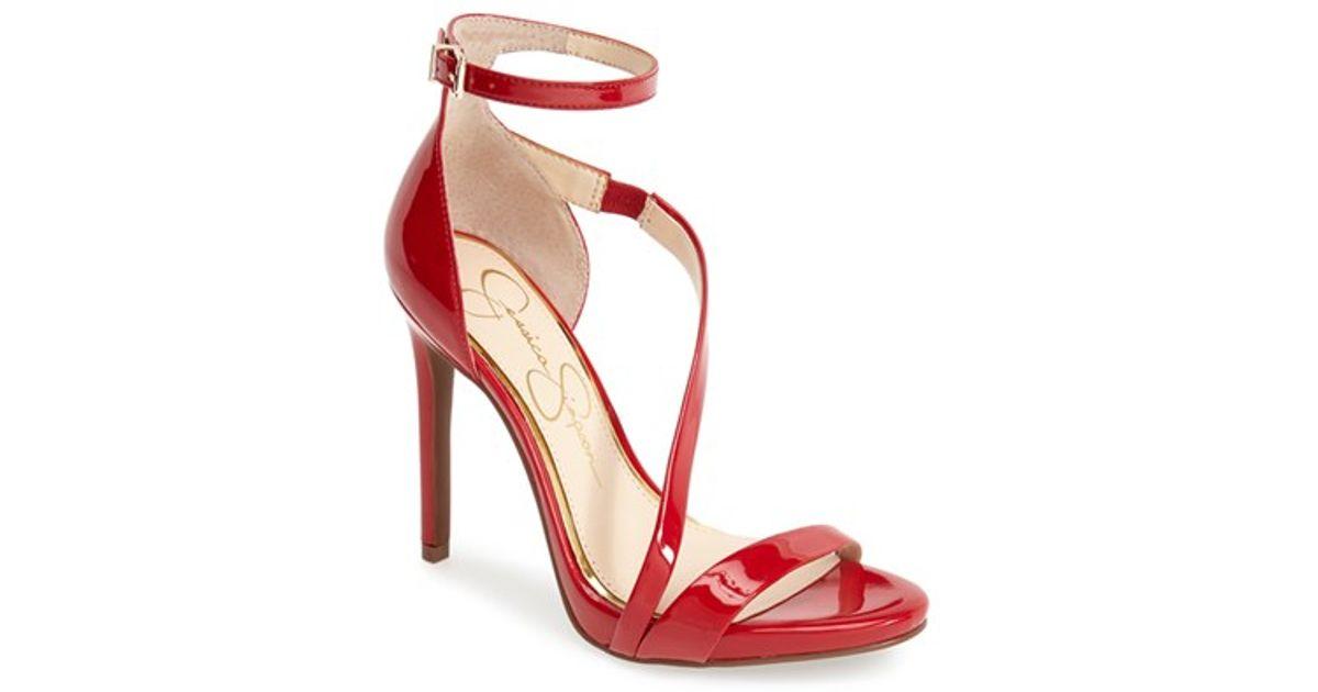 Rayli Metallic Sparkle Fabric Strappy Dress Sandals lmX1lzq