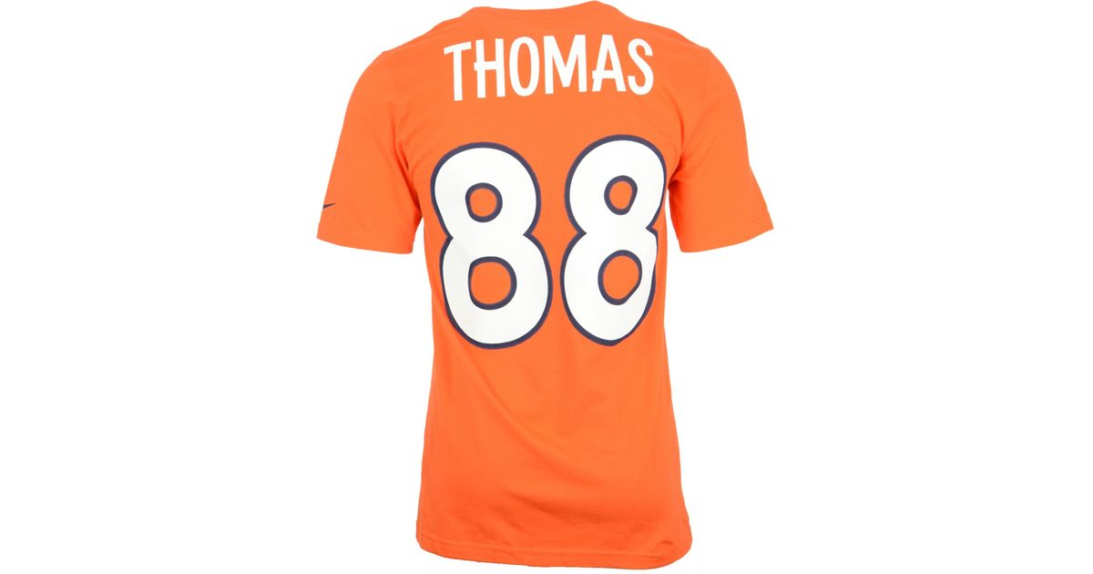 NFL Jersey's Youth Denver Broncos Demaryius Thomas Nike White Game Jersey